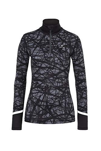 Bogner Fire + Ice Ladies Ilvy Streaks Grau, Damen Langarm-Shirt, Größe M - Farbe Wolf