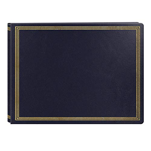Extra Large Magnetic Page X-Pando Photo Album, Navy Blue