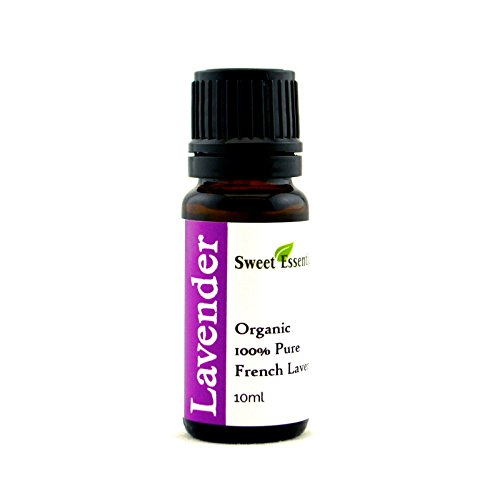 Premium Organic French Lavender Essential Oil | Imported From France - 100% Pure | Undiluted Therapeutic Grade | Aromatherapy | Perfect for Diffusers | Lavandula Dentate (10ml)