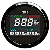 ELING Universal Digital GPS Speedometer Trip Meter Odometer Adjustable for Boat Yacht Motorcycle