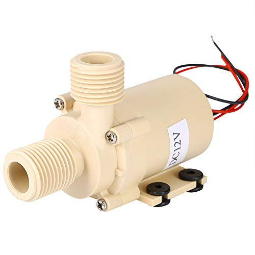 WENYOG Bomba De Agua Bomba de Agua de la Bomba de Calidad alimentaria de 12V Bomba de Alta presión Caliente/refrigerante
