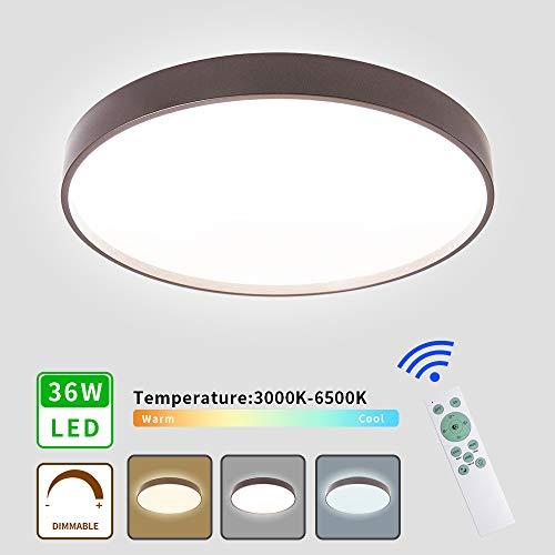 MRCOOL Lámpara de Techo LED, Luces de Techo Redondas de 24W