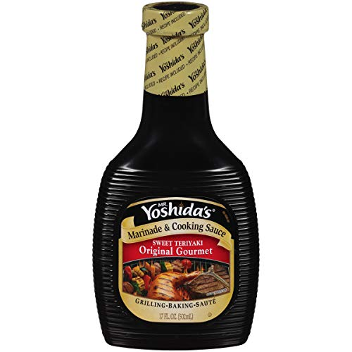 Mr. Yoshida's Original Sweet Teriyaki Marinade & Cooking Sauce (17 fl oz Bottle)
