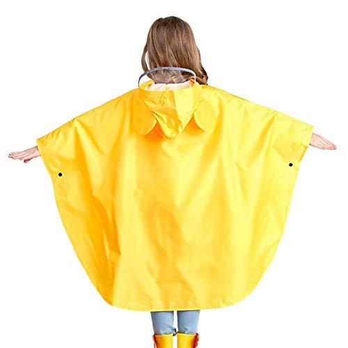 Kinderregenmantel Tragbarer Wiederverwendbarer Regenponcho Für 5 Bis 12 Jahre Jungen Und Mädchen Regenjacken
