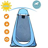 Chengstore Toilettenzelt Duschzelt,Tragbare Toilette, Zelt Toilette, Pop-Up Dusche Privacy Shelter Zelt, Tragbares Outdoor-Umkleidezelt Wasserdichtes Privacy-Duschzelt Umkleidekabine Für Camping