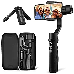 The Hohem iSteady Mobile Plus gimbal is another example of the unique travel gift ideas for vloggers and techie people.