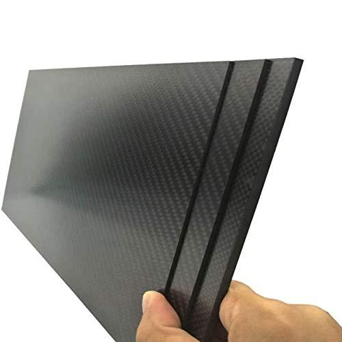 IQQI Stärke 0,2/0,5 mm, 200 X 300mMm, 3K Carbon-Faser-Platte, Matte Twill, Für DIY und Spielzeug Accessor,0.5 x 200 x 300mm