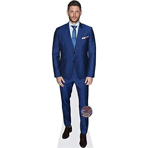 Celebrity Cutouts Jensen Ackles (Blue Suit) Pappaufsteller Mini