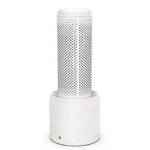 XWSQ Deshumidificador Deshumidificador pequeño portátil y Compacto Ultra silencioso para el hogar, sótanos, Dormitorio, baño, Garaje, Armario, RV, con Base de Secado Independiente para Armario