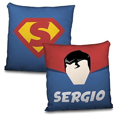 Cojín Superman personalizable