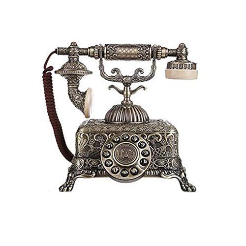 Hermosa ACTUALIZACIÓN TELEFONO, RETRO CLÁSICO TELÉFONO DE TELÉFONO CLÁSICO Teléfono antiguo Teléfono Teléfono Teléfono Dial de Rotary Línea Antigua Moda Antigua Moda Teléfono Teléfono Para Cocina Coci