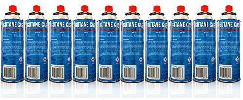 Allride MB-08 Universal Butangaskartuschen Gaskartuschen für Campingkocher, 5 Stück je 227 g, Unkrautvernichter, Camping Butan Gas, Gaskocher, Gasherd
