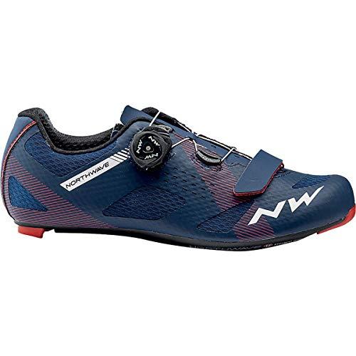 Northwave Storm Carbon Cycling Shoe - Men's Dark Blue, 46.0