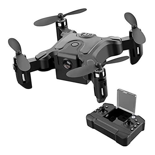 apofly Mini Drone Pocket RC Quadcopter Plegable con Cámara Sin Cabeza WiFi Control Remoto De WiFi Smart Sige De Solicitud De Solicitud De Vuelo Largo Drutón para Niños Principiante