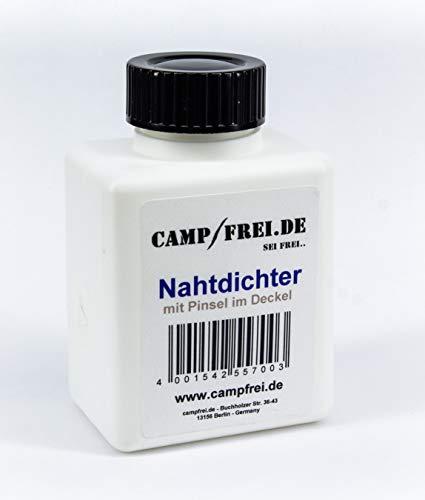 Campfrei Nahtdichter 100ml Versiegelung wasserdicht für Zelt und Stoff-Nähte flüssig mit Pinsel
