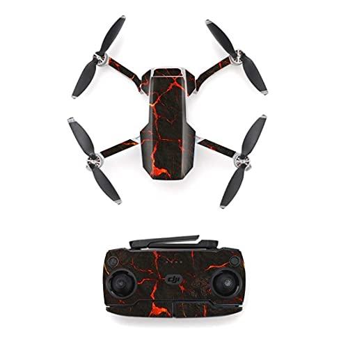 Accessori per droni Autoadesivo della pelle di stile della linea colorata durevole per DJI mini drone mavic e del telecomando Decalcomania per decalcomania della decalcomania della decalcomania del vi