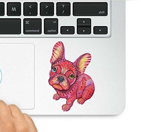 Cute Little Dog MacBook Trackpad Decal Sticker Laptop Compatible with MacBook Retina, MacBook Air, MacBook Pro Wicked Decals WD-98066
