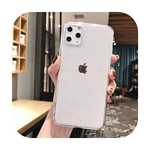 Phonecase - Custodia morbida per iPhone 11 Pro Max 6 6S7 8 Plus 5 5S SE X Xs Max Cover Coque Fundas-Tpu, per iPhone SE 5 5S