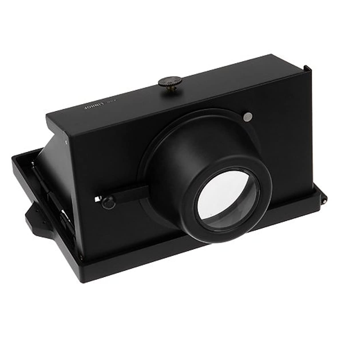 Fotodiox Pro Right Angle View Finder Hood, for 4x5 Field Camera, fits Linhof 4x5 View Camera -- Right Angle Mirror Viewfinder with Magnifying Eyepiece, Linhof Master Technika