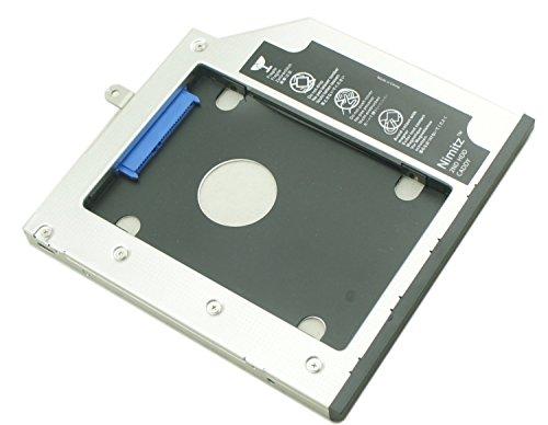 2nd HDD SSD Festplatte Nimitz Caddy für Lenovo Thinkpad T440p T540p mit Blende