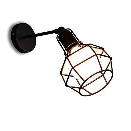 Vintage Edison Style Mini Antique Lampenschirm für Schlafzimmer Veranda Spiegel Leuchte, Bett vom Kopf des Schlafzimmer Bettes, ideal für die Mezzanine Lampe in der Café-Bar für Make-up Spiegel, Nach