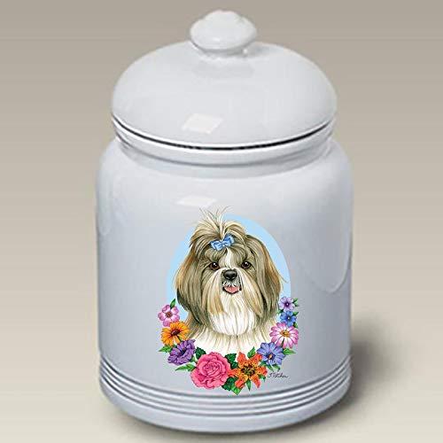 Shih Tzu - Best of Breed Ceramic Doggie Treat Jar