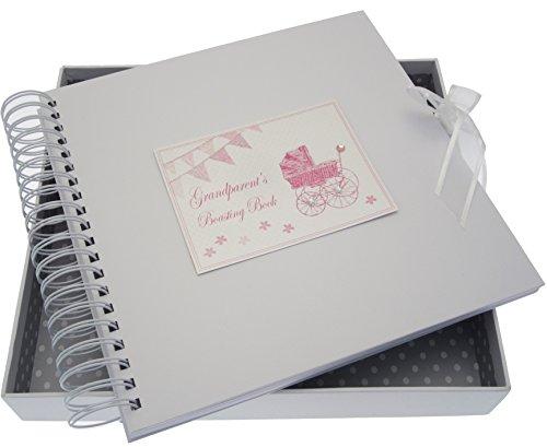 White Cotton Cards Toys Range S Boasting carte/livre de mémoire (Rose Landau et fanions)