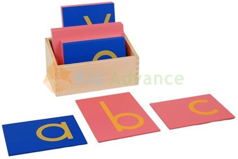 Envio gratis en todas las ordenes Montessori Lower Case Sandpaper Letters w  Box by by by Kid Advance  gran selección y entrega rápida