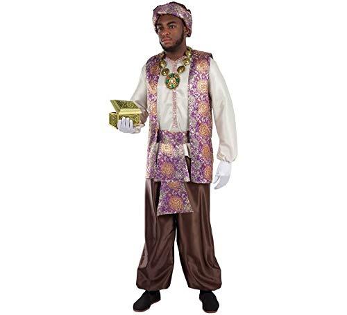 Fycar Disfraz de PAJE Real de Baltasar para Hombre