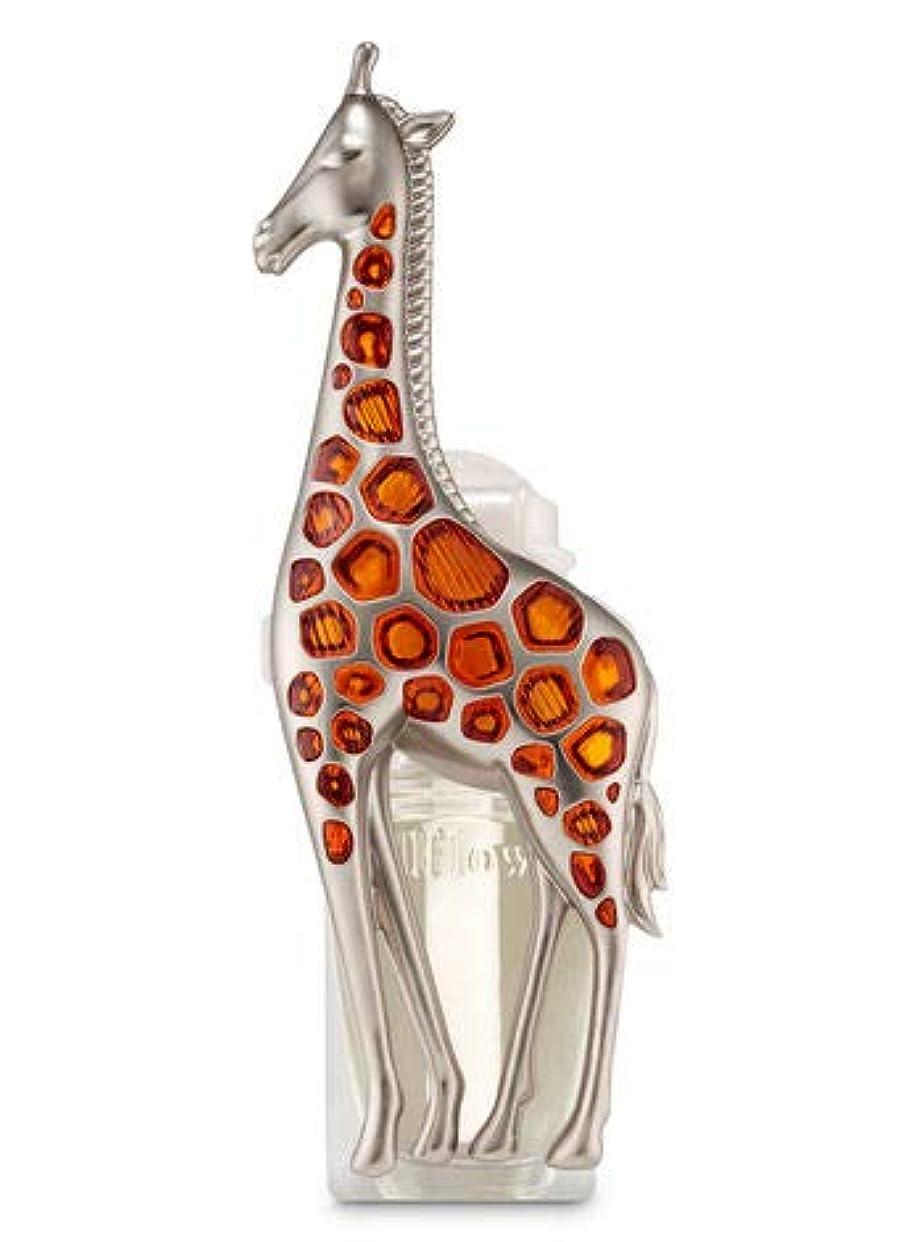 所有者大胆不敵帰る【Bath&Body Works/バス&ボディワークス】 ルームフレグランス プラグインスターター (本体のみ) キリン ナイトライト Wallflowers Fragrance Plug Giraffe Night Light [並行輸入品]