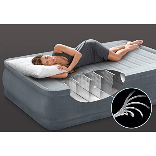 Intex Elevated Dura-Beam Airbed-Twin