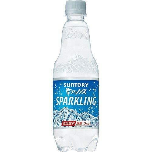 サントリー 南アルプス スパークリング炭酸水 無糖0cal 500ml×18本