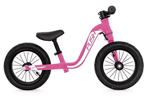 MSC Bikes 18KIDPUSHPK12 Bicicleta Push Bike T-12 Pink, Bebés Unisex, Rosa, 12