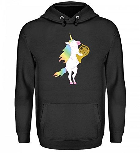 Chorchester Para todos los que aman los unicornios y el cuerno. Sudadera con capucha unisex.