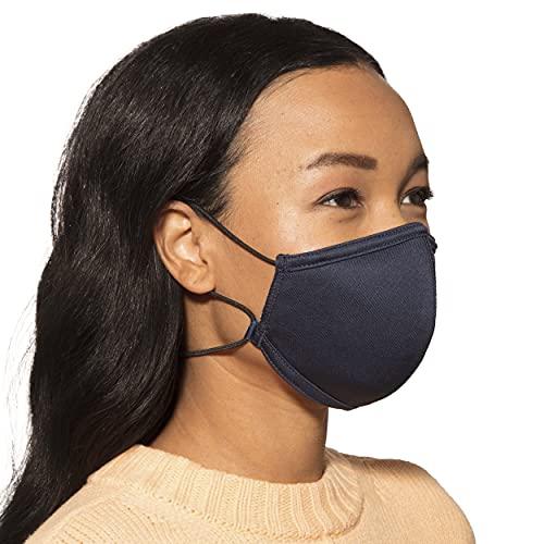 Copper Fit Unisex Never Lost Face Masks, 2 Pack