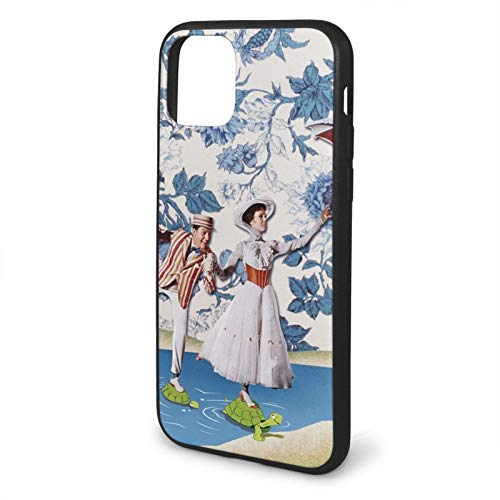 GBEBFA Mary Poppins Compatible with iPhone 12/12 Pro MAX Mini 6/6s Plus 7/8 Plus/SE 2020 X/XS XR 11 Pro MAX Phone Cases Cover-Black