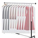 Zilink Garment Bag Dress Bags for Storage Set of 10 Anti-Moth Long...