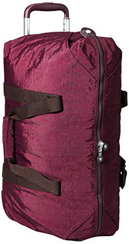 Kipling Damen Handgepäck mit Rollen, Reißverschluss Oben, Dunkle Pflaume/Pflaume (Violett) - KI0328