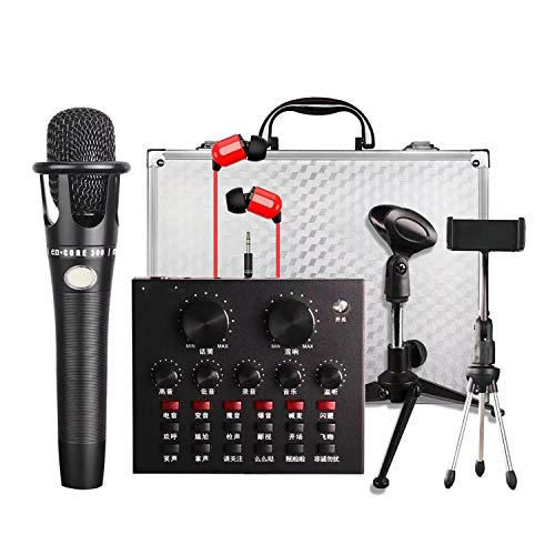 Review Of TPSKY Sound card set Mobile Computer Game Live Sound Card Set Audio Mixer Sound Card