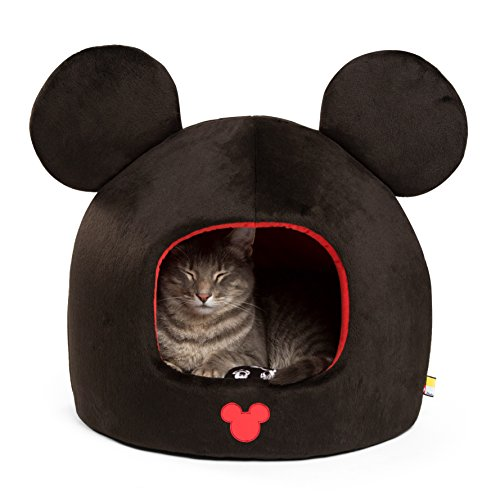Disney Mickey Mouse Dome, Black, One Size