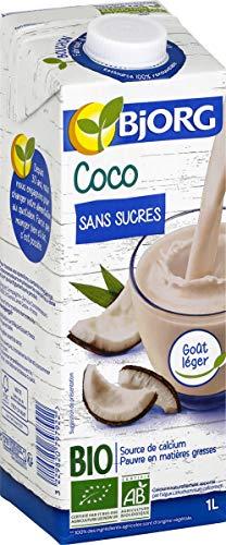 Bjorg Boisson Coco sans Sucres 1 L - Pack de 12