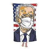 President Usa Joe Biden - Toalla de microfibra para baño, 32 x 52 pulgadas, toallas de playa para hombres y mujeres, niños, hotel y spa, baño de natación, toallas