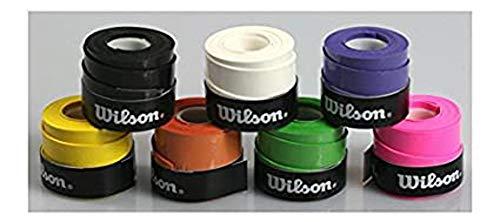 WILSON 10 Griffbänder Bowl für Tennis Badminton Squash extra haltbar