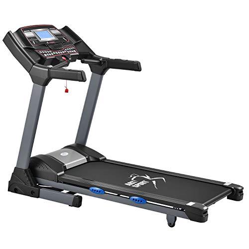 ArtSport Laufband Speedrunner 6000 elektrisch & klappbar 22 km/h | 99 Programme | LCD Display | bis 150 kg belastbar | Heimtrainer Fitnessgerät