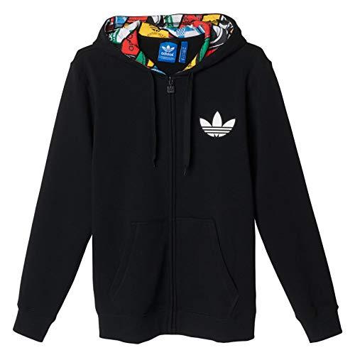 adidas Labels Hoody - Sudadera para Hombre, Color Negro, Talla S