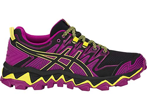 Asics Gel SGHrabuco 7 - Zapatillas de running para mujer, (Espectro morado/negro.), 38.5 EU