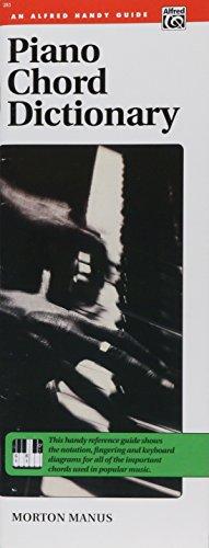Manus, M: Piano Chord Dictionary. Handy Guide