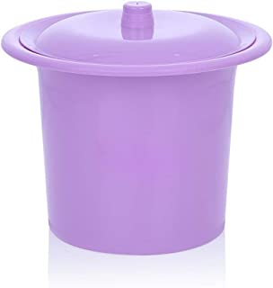 XYQRHQQ Thick Plastic Spittoon Old Child Potty For Men And Women Home Bucket Bedpan Urinal Basin Chamber Pot Urinals Potty For Chamberpot Toilet Portable Toilets Adult Bedroom Chamber pot,Emergency Ur