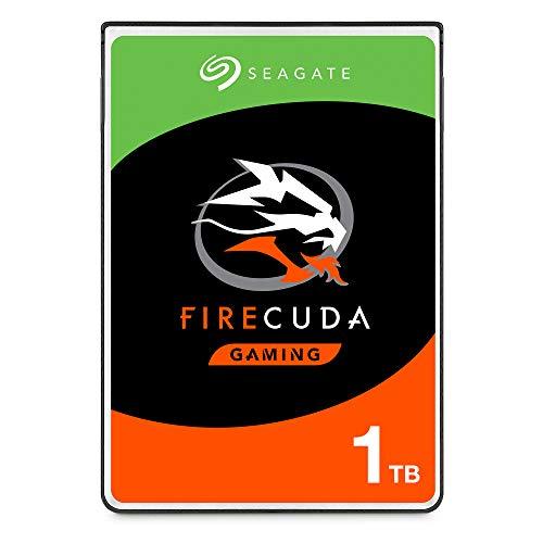 "Seagate FireCuda ST1000LX015 Disque Dur Hybrid SSD Interne 6,4 cm (2,5""), 1 To, SATA 6Gb/s, Noir"