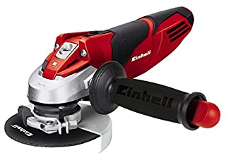 Einhell TE-AG 115 - Amoladora angular, mango auxiliar regulable, disco de 115 mm, 11000 rpm, 720 W, 230 V, color negro y rojo (B00BLZXTMO) | Amazon price tracker / tracking, Amazon price history charts, Amazon price watches, Amazon price drop alerts